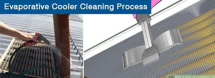 Evaporative Cooler Cleaning Process