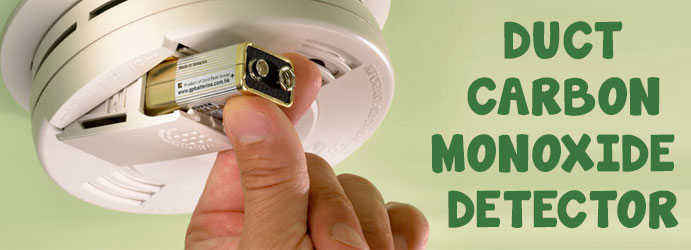 Duct Carbon Monoxide Detector Blind Bight